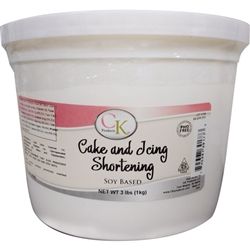 Cake and Icing Shortening - Soy Based PHO Free