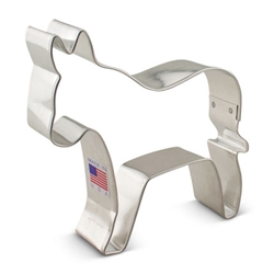 "3-3/4"" Democratic Donkey Cookie Cutter"