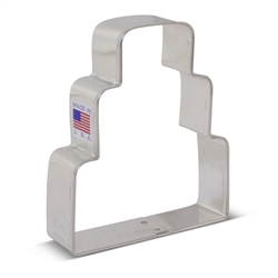 "3-3/4"" Wedding Cake Cookie Cutter"