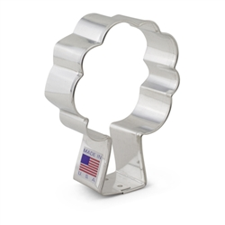"3-5/8"" Apple Tree Cookie Cutter"