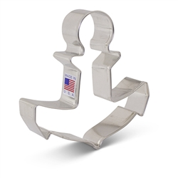 "4"" Anchor Cookie Cutter"