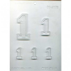 "Collegiate Number ""1"" Mold"