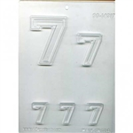 "Collegiate Number ""7"" Mold"