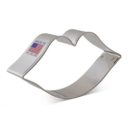 "4-1/8"" Lips Cookie Cutter"