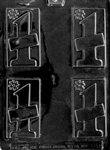#1 Card Chocolate Mold
