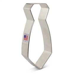"4-3/4"" Neck Tie Cookie Cutter"