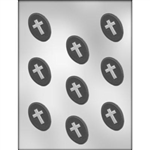 Cross Oval Mint Chocolate Mold 90-7005 religious confirmation prayer
