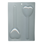 Heart Pretzel Chocolate Mold (90-945)