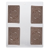 Marijuana Leaf Business Card Chocolate Mold 90-99603