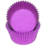 Purple Mini Baking Cups 500 Count wedding graduation