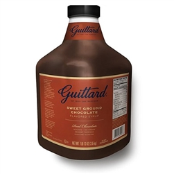 Guittard Sweet Ground Chocolate Syrup 3.5 kg
