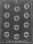 Bite Sized Buttons Chocolate Mold B074 sewing baby