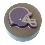 Football Helmet Sandwich Cookie Chocolate Mold 90-16604 sport Superbowl NFL NFC AFC Big Ten