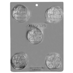 Class of 2020 Sandwich Cookie Chocolate Mold 90-161320 graduation