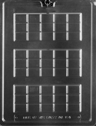 15 Piece Break Apart Bar Chocolate Mold AO154 hershey