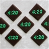 4:20 Marijuana Mint Chocolate Mold 90-99605)