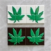 Marijuana Leaf Break Up Bar Chocolate Mold 90-99601 weed CBD