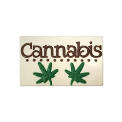 Cannabis Marijuana Business Card Chocolate Mold 90-99604 weed CBD THC