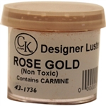 Rose Gold Designer Luster Dust wedding Valentine 43-1736