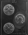 Celtic Soap Bar Chocolate Mold M240 Irish wedding st patricks