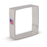 "2-1/2"" Square Cookie Cutter 7984A"