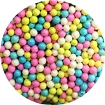 Multi Color 3-4MM Sugar Pearls 3.6 Ounce Bottle Easter child birthday rainbow