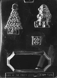 Christmas Centerpiece Chocolate Mold - LPC174