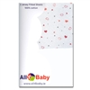 All4Baby 2 Pack Moses Fitted Sheet Hearts