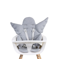 Childhome Angel Highchair Cushion Jersey Grey