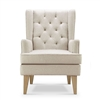 Babylo Glider Nested Soothe Easy Chair and Rocker Beige
