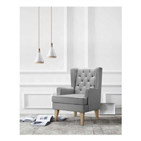 Babylo Glider Nested Soothe Easy Chair and Rocker Grey