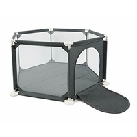 Babylo Metal Playpen with Comfy Mat