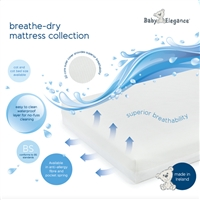 Baby Elegance Breathe-Dry Cot Mattress 60 x 120 cms