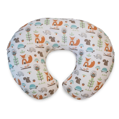 Boppy Cotton Feeding Pillow Modern Woodland Available Online And