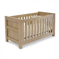 Babystyle Bordeaux cot bed oak