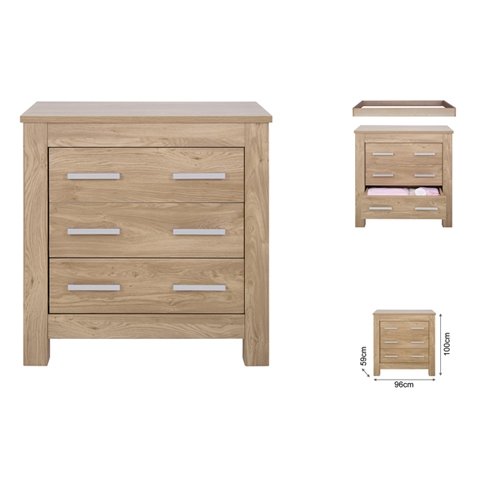Babystyle Bordeaux Dresser Available