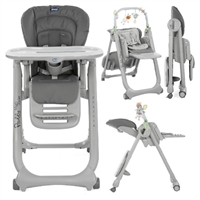 Chicco Polly Magic Relax Highchair Anthracite