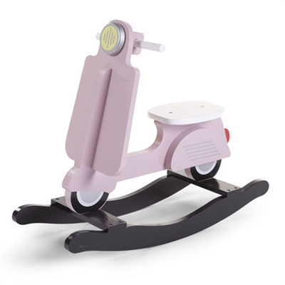 Childhome Rocking Scooter Pink & Black