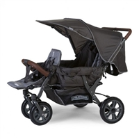 NEW Childhome Triplet Stroller Anthracite