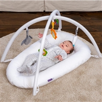 ClevaSleep Pod Play Arch with toys