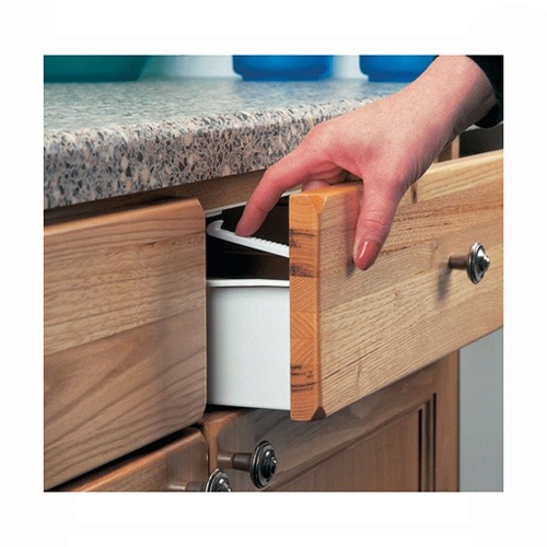 Clippasafe Cupboard Drawer Lock Secure Catches 6 Pack Safety Baby Proofing 2