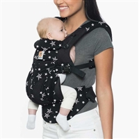Ergobaby Omni 360 Baby Carrier All-In-One Cool Air Mesh Black Stars