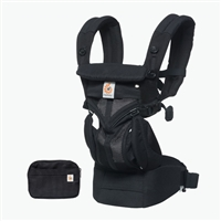 Ergobaby Omni 360 Baby Carrier All-In-One Cool Air Mesh Onyx Black