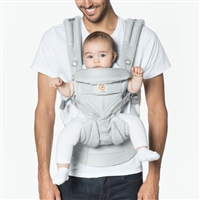 Ergobaby Omni 360 Baby Carrier All-In-One: Cool Air Mesh Pearl Grey