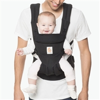 Ergobaby Omni 360 Baby Carrier All-In-One Pure Black