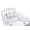 BreathableBaby Mesh Cot/Cot Bed Liner Enchanted Forest