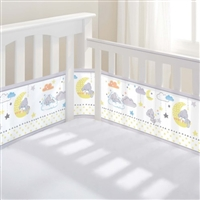BreathableBaby Mesh Cot Liner Tatty Teddy