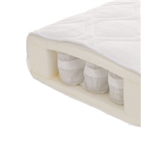 Obaby All Seasons Pocket Sprung Cot Bed Mattress 140 x 70cm