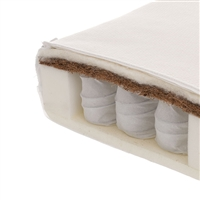 Obaby Moisture Management Dual Core Cot Bed Mattress