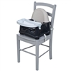 Safety 1st Easy Care Swing Tray Booster Seat in Grey Patches